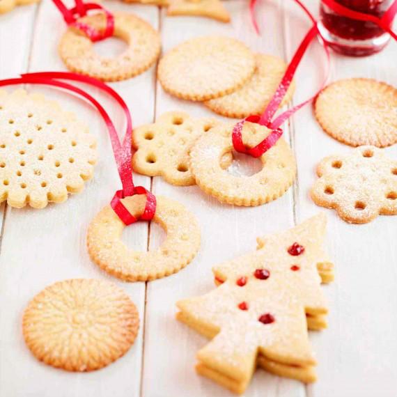 Easy Christmas Shortbread 3 Ingredients 5 Steps